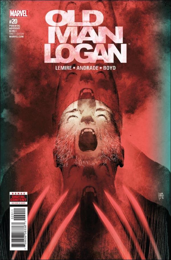 Old Man Logan #20 [2017] VF/NM Marvel Comics