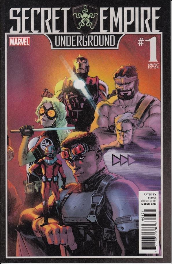 Secret Empire: Underground #1 Connecting Variant Cover [2017] VF/NM Marvel Comics