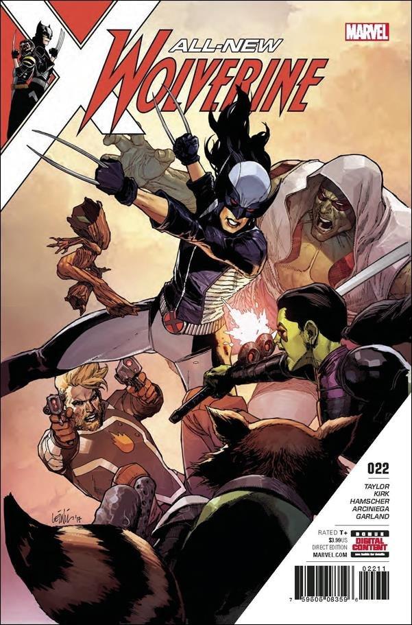 All-New Wolverine #22 [2017] VF/NM Marvel Comics
