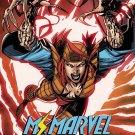Ms. Marvel #20 Jim Lee X-Men Trading Card Variant Cover [2017] VF/NM Marvel Comics