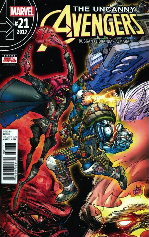 Uncanny Avengers #21 [2017] VF/NM Marvel Comics