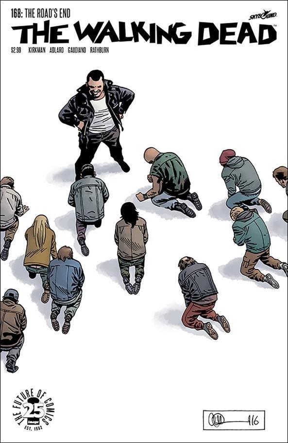 Walking Dead #168 [2017] VF/NM Image Comics