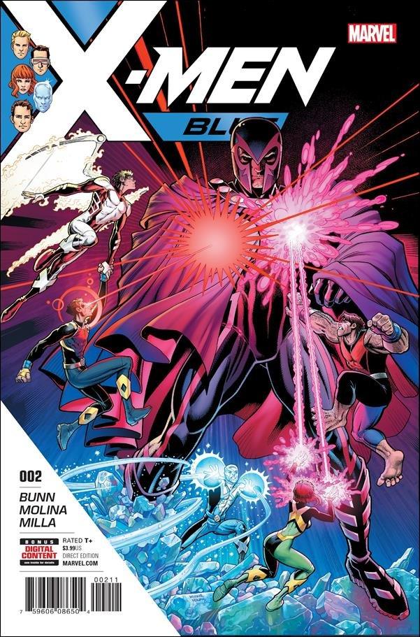 X-Men: Blue #2 [2017] VF/NM Marvel Comics