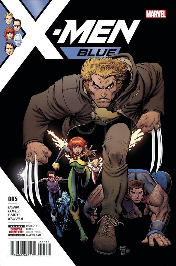 X-Men: Blue #5 [2017] VF/NM Marvel Comics