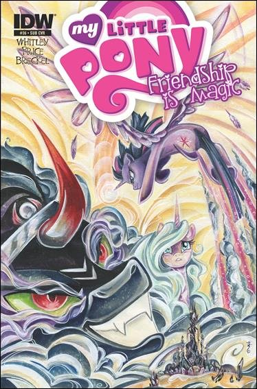 My Little Pony: Friendship is Magic #36 Subscription Variant Cover [2015] VF/NM IDW Comics