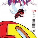 Unstoppable Wasp #1 Skottie Young Baby Variant Cover [2017] VF/NM Marvel Comics