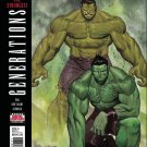 Generations: Banner Hulk & The Totally Awesome Hulk #1 [2017] VF/NM Marvel Comics