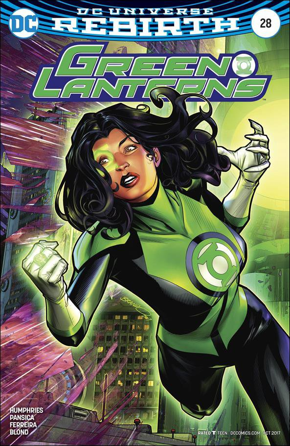 Green Lanterns #28 Brandon Peterson Variant Cover [2017] VF/NM DC Comics