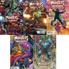 Monsters Unleashed Complete Set #1-5 [2017] VF/NM Marvel Comics