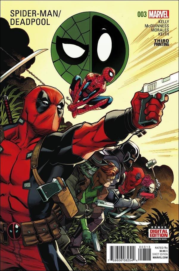 Spider-Man / Deadpool #3 Third Printing [2016] VF/NM Marvel Comics