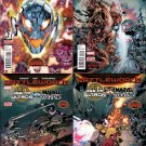 Age of Ultron vs Marvel Zombies Complete Set #1-4 [2015] VF/NM Marvel Comics