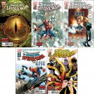 Amazing Spider-Man Trade Set #691-695 [2012] VF/NM Marvel Comics