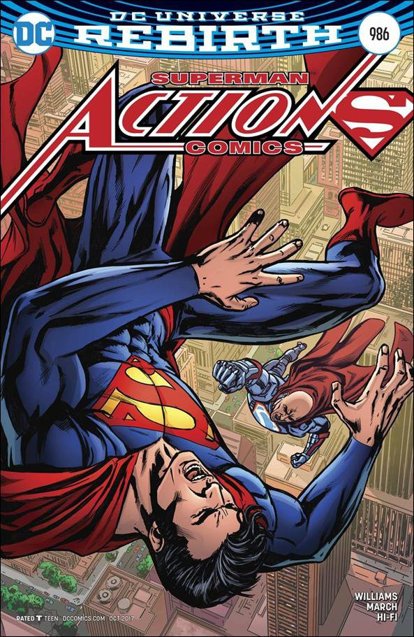 Action Comics #986 Neil Edwards Variant Cover [2017] VF/NM DC Comics