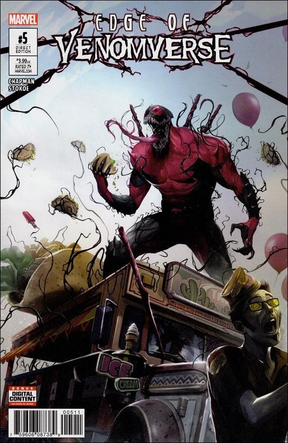 Edge of Venomverse #5 [2017] VF/NM Marvel Comics