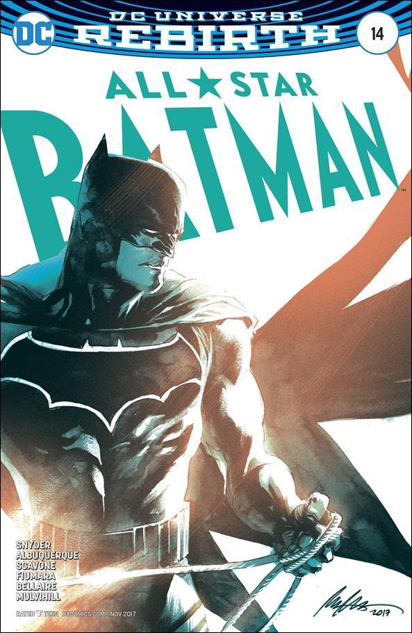 All-Star Batman #14 Rafael Albuquerque Variant Cover [2017] VF/NM DC Comics