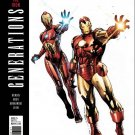 Generations: Iron Man & Ironheart #1 Olivier Coipel Variant Cover [2017] VF/NM Marvel Comics