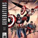 Generations: Sam Wilson Captain America & Steve Rogers Captain America #1 [2017] VF/NM Marvel Comics