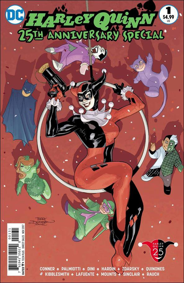 Harley Quinn 25th Anniversary Special #1 Bruce Timm Variant Cover [2017] VF/NM DC Comics