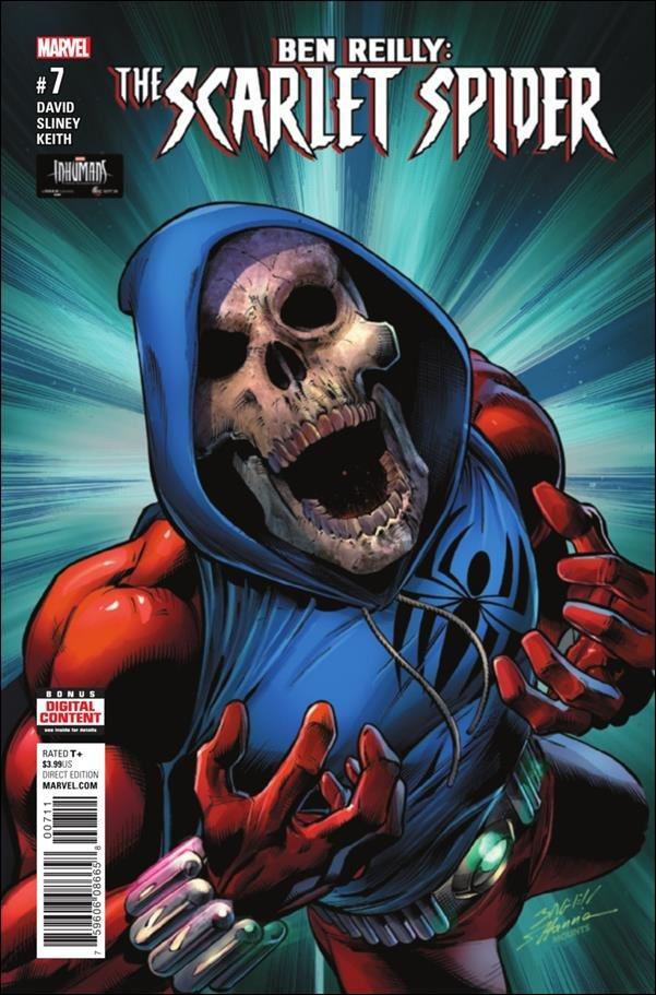 Ben Reilly: Scarlet Spider #7 [2017] VF/NM Marvel Comics