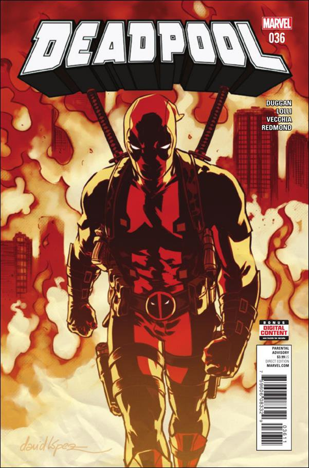 Deadpool #36 [2017] VF/NM Marvel Comics