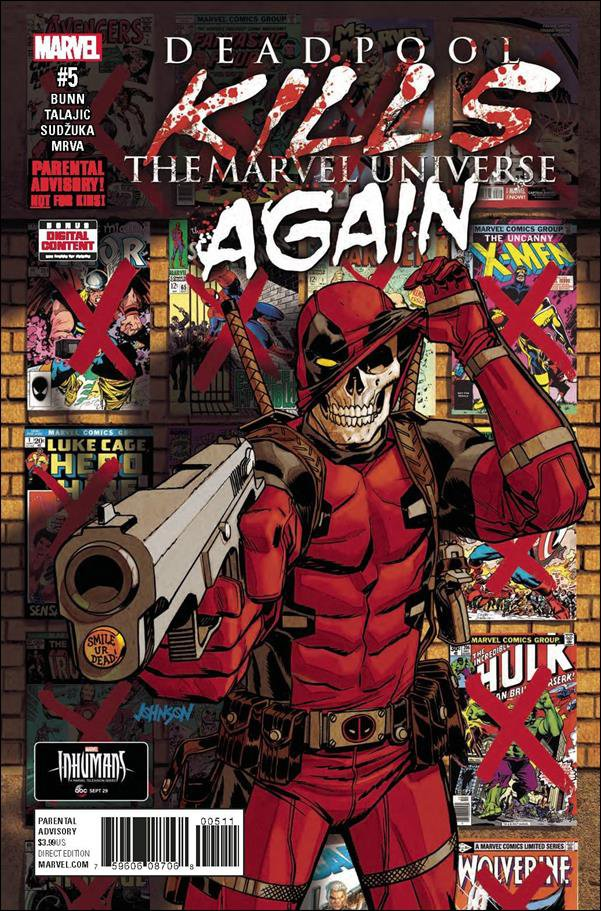 Deadpool Kills the Marvel Universe Again #5 of 5 [2017] VF/NM Marvel Comics