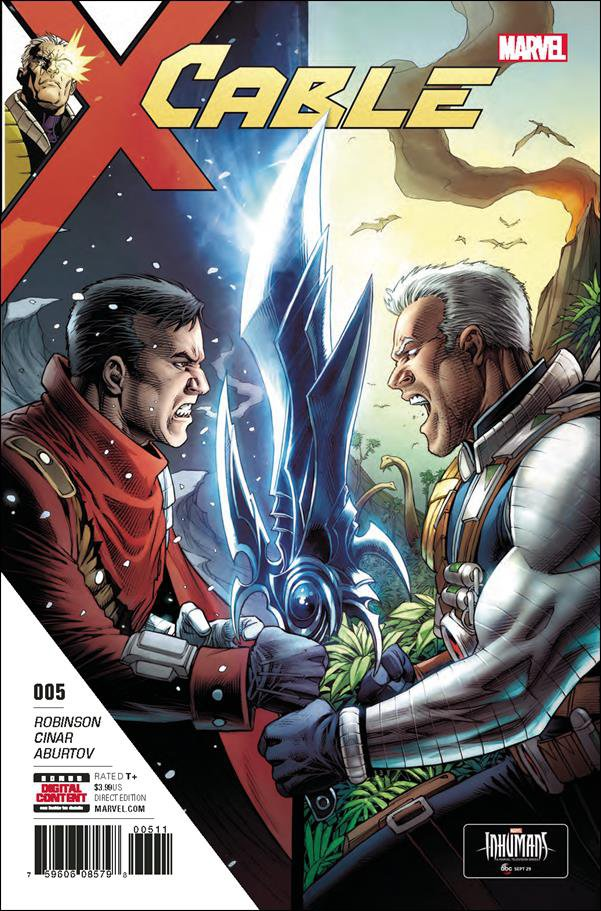 Cable #5 [2017] VF/NM Marvel Comics
