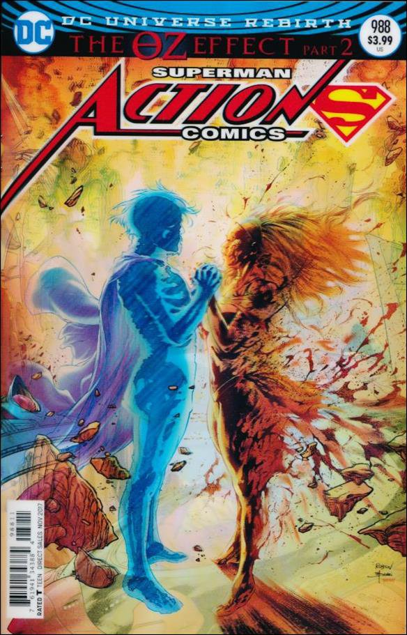 Action Comics #988 Robson Rocha Lenticular Variant Cover [2017] VF/NM DC Comics