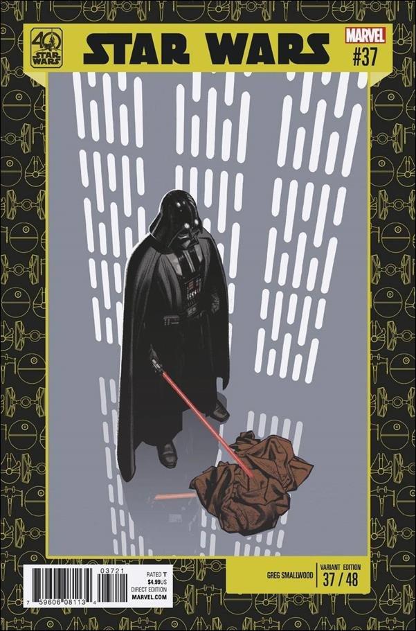 Star Wars #37 Greg Smallwood Star Wars 40th Anniversary Variant Cover [2017] VF/NM Marvel Comics