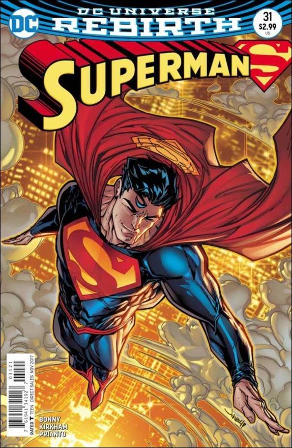 Superman #31 Ian Churchill  Variant Cover [2017] VF/NM DC Comics