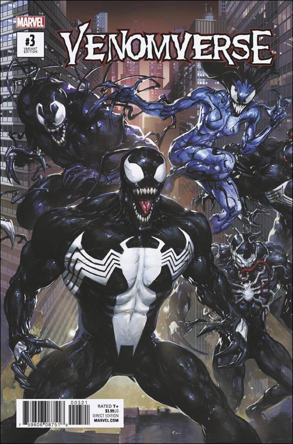 Venomverse #3 of 5 Clayton Crain Connecting Variant Cover [2017] VF/NM Marvel Comics