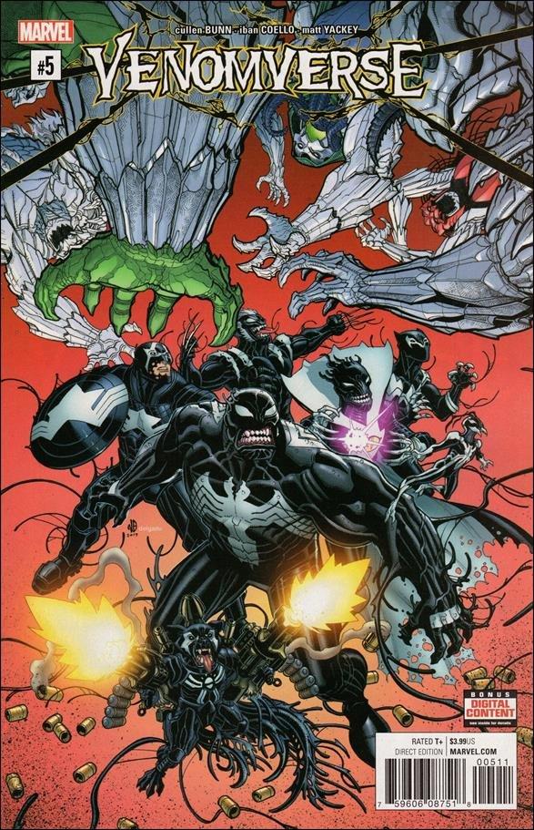 Venomverse #5 of 5 [2017] VF/NM Marvel Comics