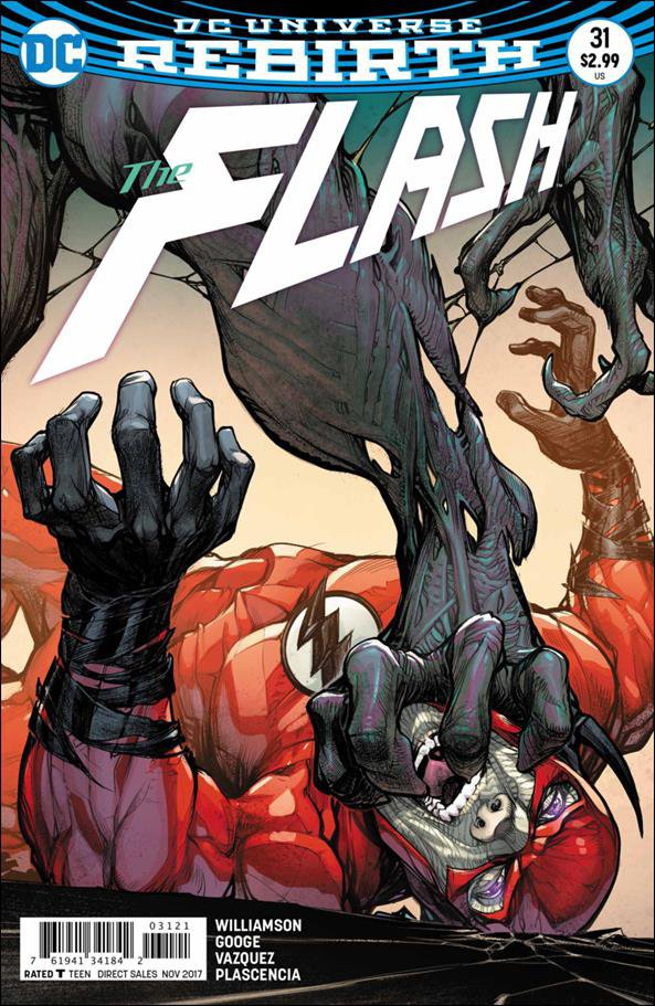 Flash #31 Howard Porter Variant Cover [2017] VF/NM DC Comics