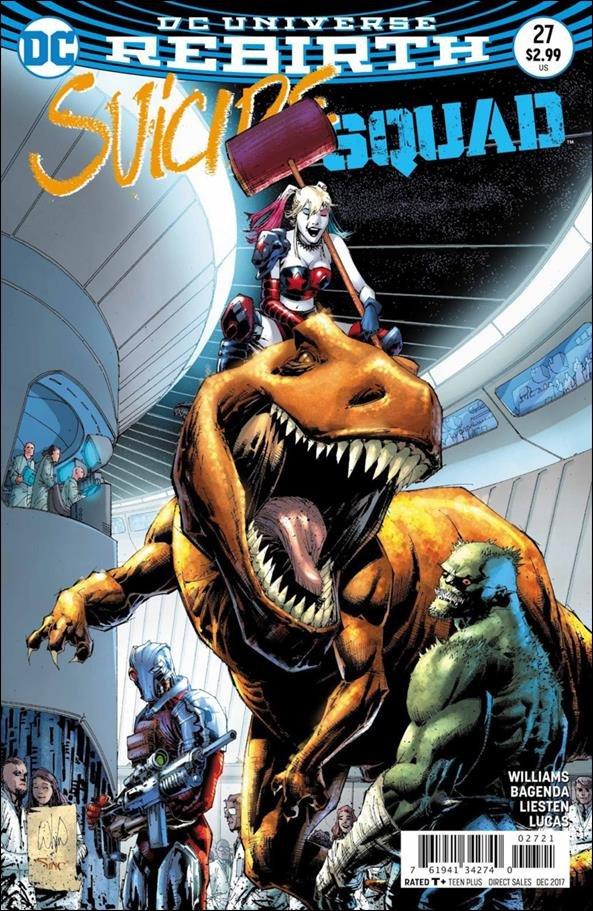 Suicide Squad #27 Whilce Portacio Variant Cover [2017] VF/NM DC Comics