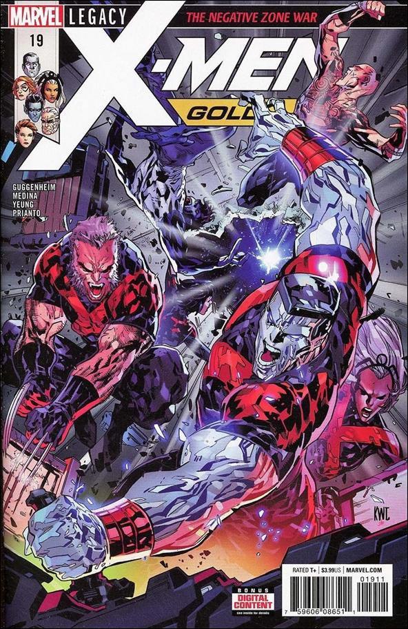 X-Men: Gold #19 [2018] VF/NM Marvel Comics