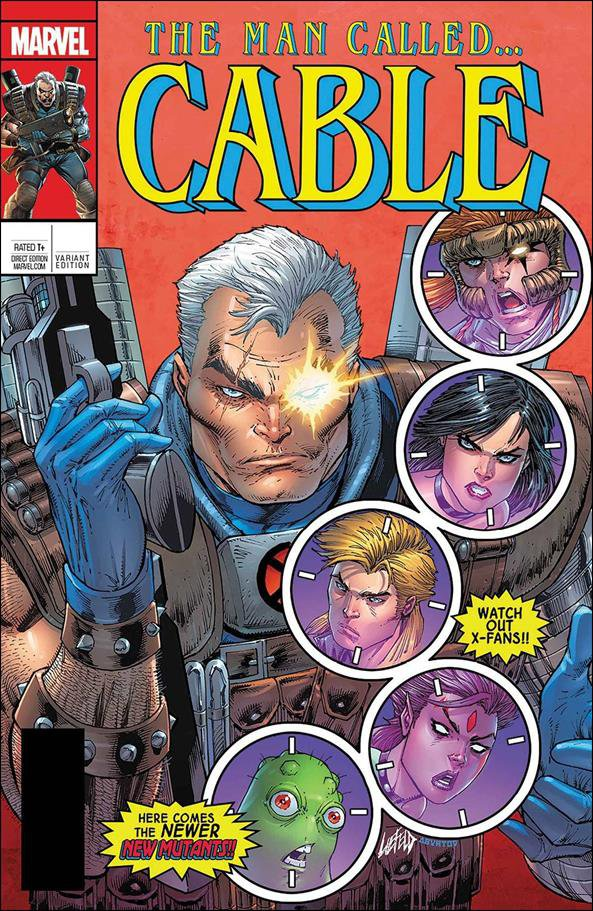 Cable #150 Rob Liefeld Lenticular Homage Variant Cover [2017] VF/NM Marvel Comics