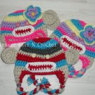 VKNC213 Baby Cheeky Monkey style animal Hat Crochet Pattern NEW