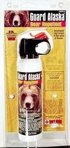 Pepper Spray Guard Alaska BR-9 Bear Repellent BR-9