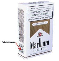 Hidden Nanny Camera Cigarette Pack HCC