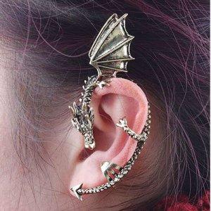 Fun Dragon Ear Cuff! Non-piercing