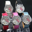 Lovely Cute Pretty Shiny Hello Kitty Watches Great Gift