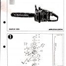 Chain Saw Parts List McCulloch MACCAT 839
