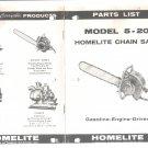 Chain Saw Parts List Homelite 5-20
