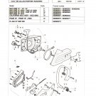 Chain Saw Parts List McCulloch Mac Partner-Ranchero