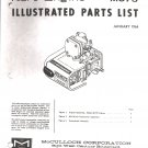 Kart Engine Parts List McCullouh MC75