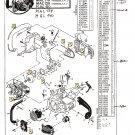 Chain Saw Parts List Mc Culloch , Mac 110, 120, 130, 134, 140