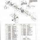 Chain Saw Parts List Mc Culloch , Mac 2818AV