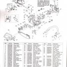MAC CAT 335, 435, 440., McCulloch Chain Saw Parts List