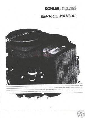 KOHLER Service Manual OHC 16,18 HP Electrical  Manuals