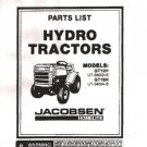 Homelite/Jacobsen Hydro Garden GT16H Tractor Parts List