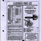 100 Series & 160S  McCulloch Chain Saw Parts List
